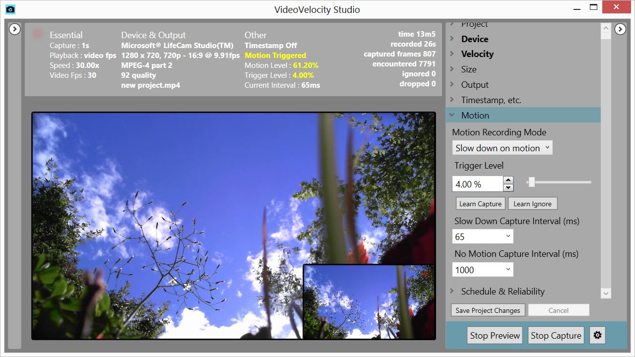 VideoVelocity Features - CandyLabs